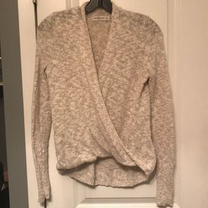 Abercrombie & Fitch Oatmeal Sweater